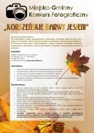Miejsko-Gminny Konkurs Fotograficzny ,,Korszeńskie Barwy Jesieni''