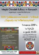 """Zapraszamy do wyjazdu na XXXV Jubileuszowe Kaziuki-Wilniuki """"Zapusty na Wileńszczyźnie"""" do Kętrzyna"""